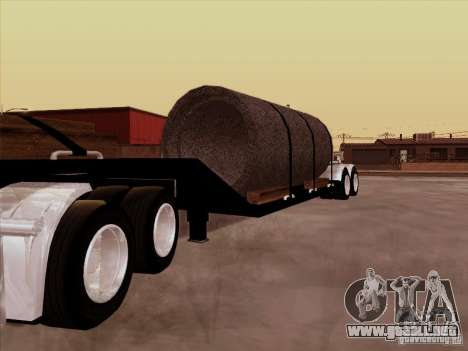 Trailer, Peterbilt 378 Custom para GTA San Andreas