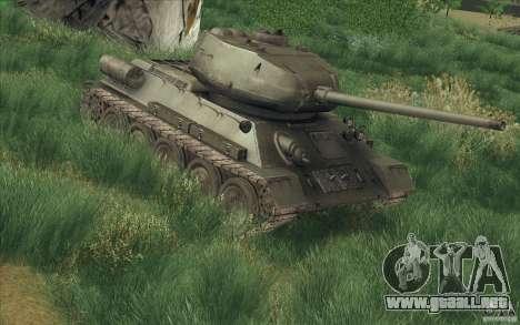 T-34-85 desde el juego COD World at War para GTA San Andreas