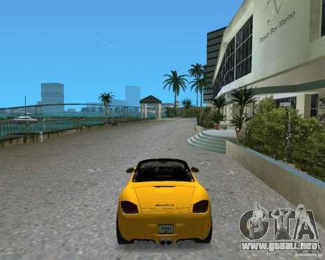 Porsche Boxster 2010 para GTA Vice City vista lateral izquierdo