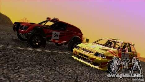 Seat Ibiza Rally para GTA San Andreas interior