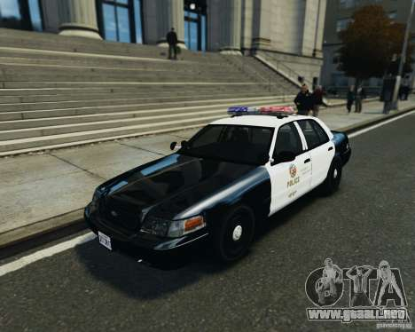 Ford Crown Victoria LAPD para GTA 4