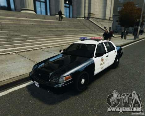 Ford Crown Victoria LAPD para GTA 4