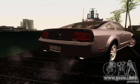 Ford Mustang GT Tunable para vista lateral GTA San Andreas