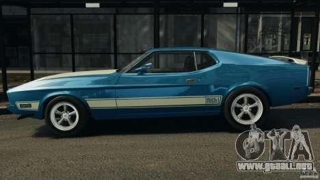 Ford Mustang Mach I 1973 para GTA 4 left