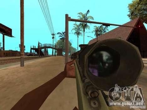 M40A3 para GTA San Andreas tercera pantalla