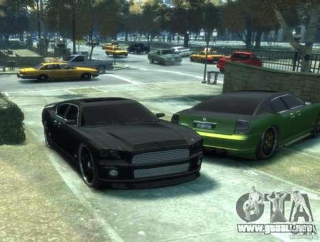 Civilian Buffalo DUB Edition v3.0 para GTA 4 Vista posterior izquierda