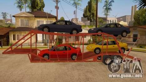 Carro del semi-remolque para GTA San Andreas left