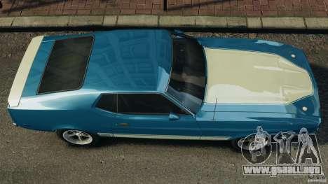 Ford Mustang Mach I 1973 para GTA 4 visión correcta