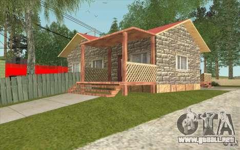 Una aldea nueva Dillimur para GTA San Andreas sexta pantalla