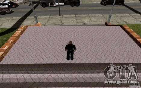 La nueva cancha de baloncesto para GTA San Andreas octavo de pantalla