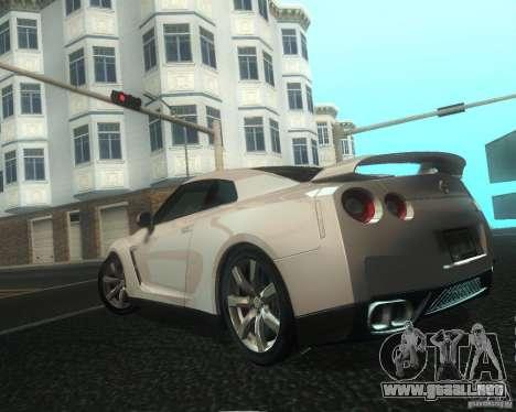 Nissan GTR R35 Spec-V 2010 Stock Wheels para las ruedas de GTA San Andreas