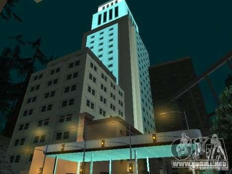 Nueva ciudad v1 para GTA San Andreas tercera pantalla