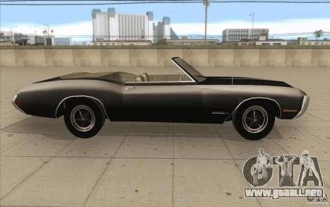 Buick Riviera GS 1969 para visión interna GTA San Andreas