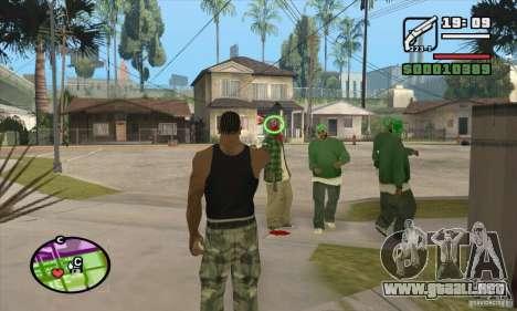 Nueva vista para GTA San Andreas segunda pantalla