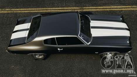 Chevrolet Chevelle SS 1970 v1.0 para GTA 4 visión correcta