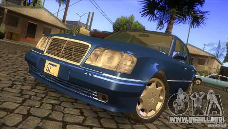 Mersedes-Benz E500 para GTA San Andreas