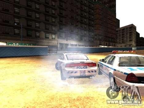Dodge Charger 2011 Toronto Police para vista lateral GTA San Andreas