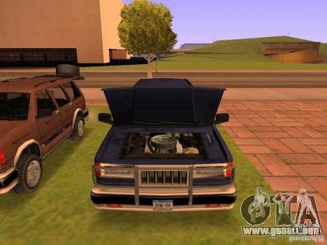 Mountainstalker S para el motor de GTA San Andreas