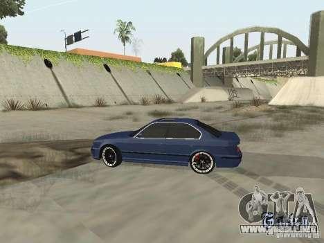 BMW M5 E34 V2.0 para la visión correcta GTA San Andreas