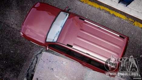 Toyota Land Cruiser 100 Stock para GTA 4 vista interior