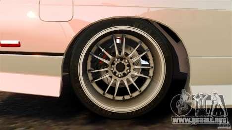 Nissan 240SX facelift Silvia S15 [RIV] para GTA 4 vista desde abajo