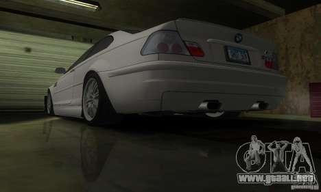 BMW M3 Tuneable para vista lateral GTA San Andreas