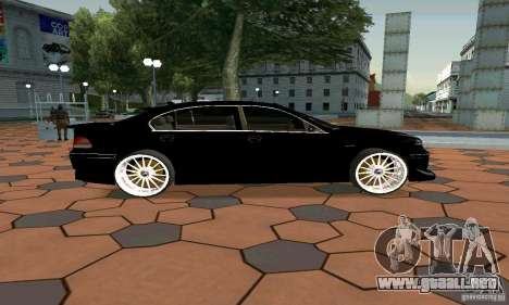 BMW 760LI para GTA San Andreas left