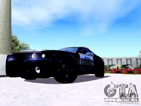 NFS Undercover Cop Car MUS para GTA San Andreas left
