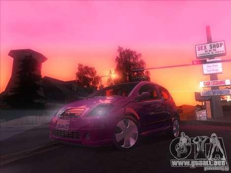 Citroen C2 para la visión correcta GTA San Andreas