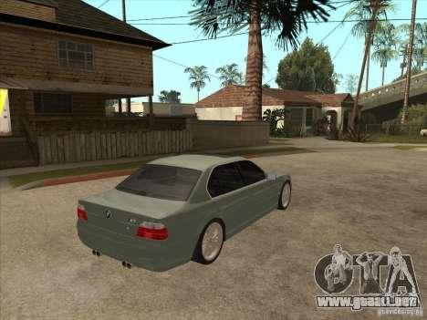 BMW E38 M7 para la visión correcta GTA San Andreas