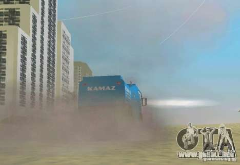 KAMAZ Master para GTA Vice City left