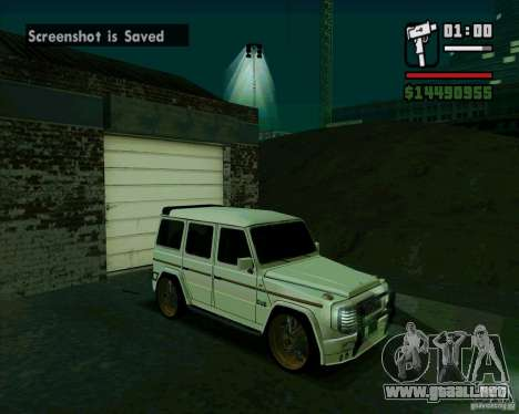 Mercedes Benz G500 Dub Edition para GTA San Andreas