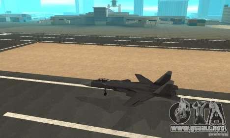 Su-47 berkut aprobar para GTA San Andreas left