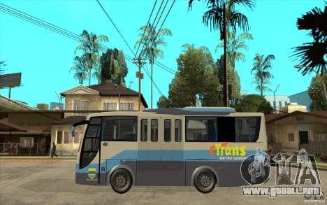 Hino Evo C para GTA San Andreas left