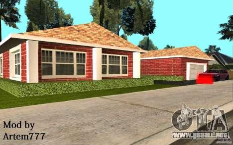 Nuevas texturas Inicio Millie para GTA San Andreas