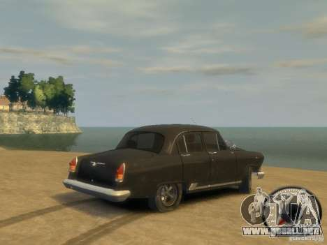 Volga GAZ 21 v8 para GTA 4 left