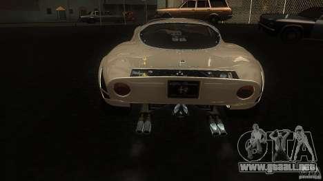 Alfa Romeo Tipo 33 Stradale para la visión correcta GTA San Andreas