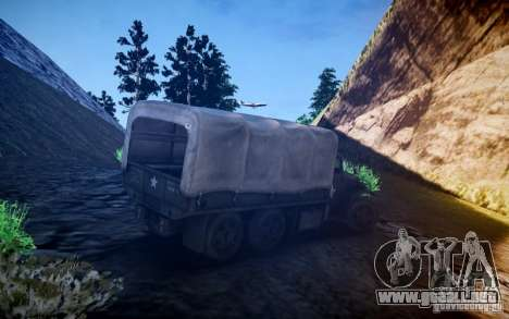 Millitary camión de Mafia II para GTA 4 visión correcta