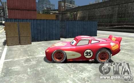 Lighting McQueen para GTA 4 left