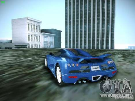 Koenigsegg CCXR Edition para GTA San Andreas left