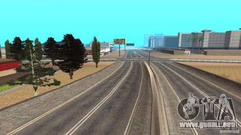 New HQ Roads para GTA San Andreas quinta pantalla