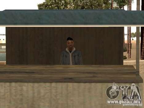 Mercado en la playa para GTA San Andreas segunda pantalla