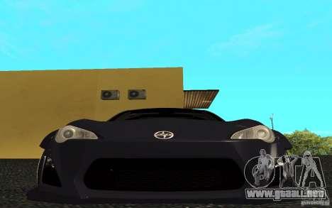 Scion FR-S para GTA San Andreas left