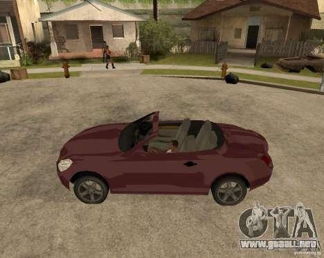 Lexus SC430 para GTA San Andreas left