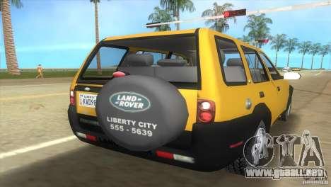 Land Rover Freelander para GTA Vice City left