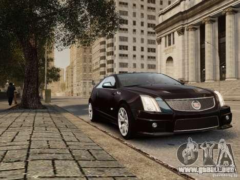 Cadillac CTS-V Coupe 2011 para GTA 4 visión correcta