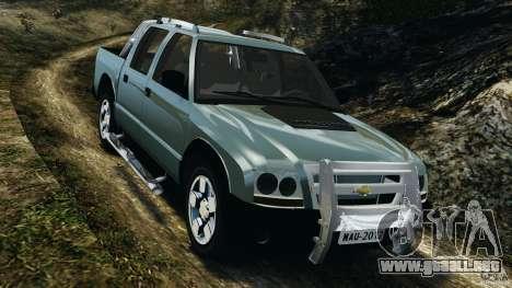 Chevrolet S-10 Colinas Cabine Dupla para GTA 4