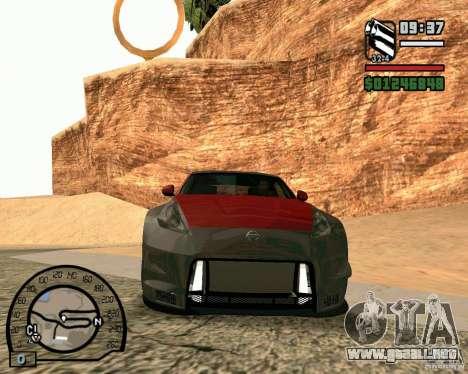 Nissan 370Z Undercover para GTA San Andreas left