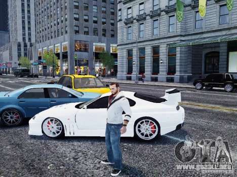 Toyota Supra Drift Setting para GTA 4 left