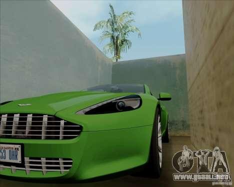 Aston Martin Rapide 2010 V1.0 para la vista superior GTA San Andreas